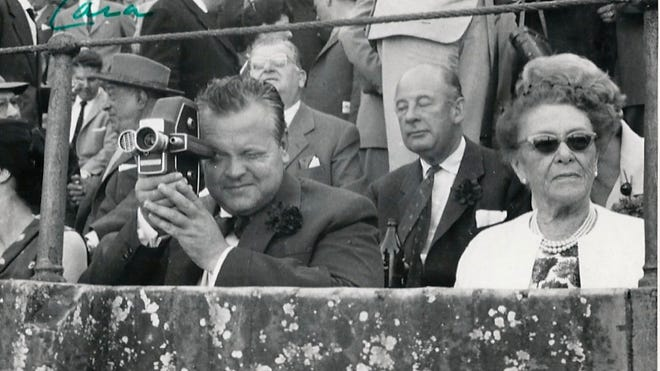 The 1950's era 16 millimeter film camera used by Orson Welles to shoot a 1962 documentary and home movies was one of the items consigned by his daughter Beatrice Welles to be offered by Heritage Auctions in New York City.