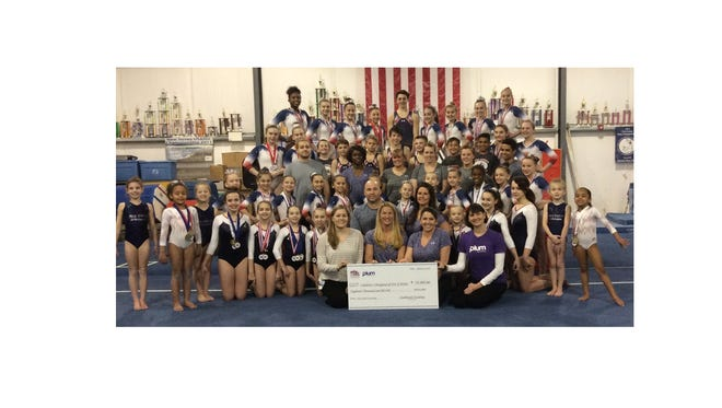 A portion of the proceeds from Star Bound Gymnastics Academy's Star Struck Invitational will benefit children who have to stay in the hospital for an extended period of time.