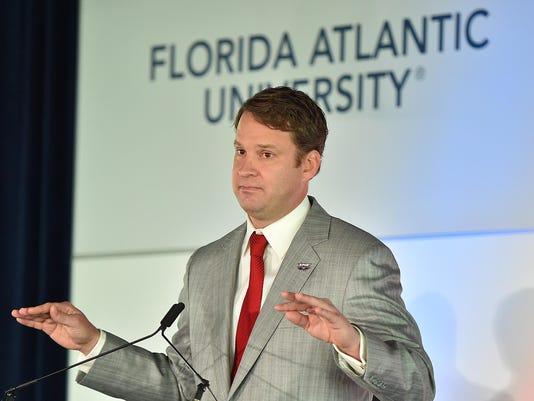NCAA Football FAU Press Conference