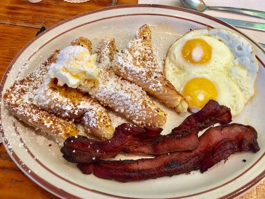 The french toast breakfast.