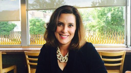 Former Senate Minority Leader Gretchen Whitmer, D-East Lansing.