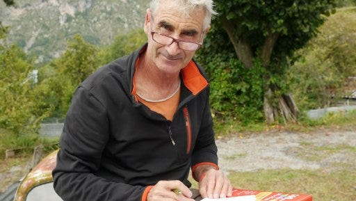 Herve Gourdel, shown in Nice in an undated photo, was kidnapped on Sunday, Sept. 21, 2014, by a militant group linked to the Islamic State.