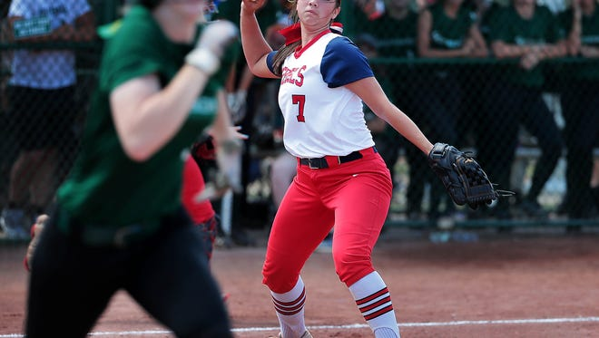 Tipton-Rosemark's Rachel Whitley is The Commercial Appeal Sports Awards softball player of the year.