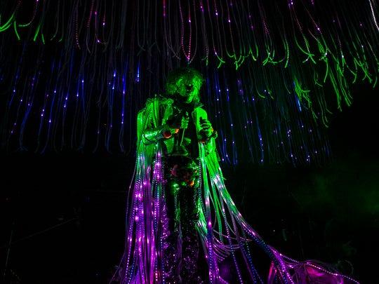 Wayne Coyne of the Flaming Lips performs at the Arizona