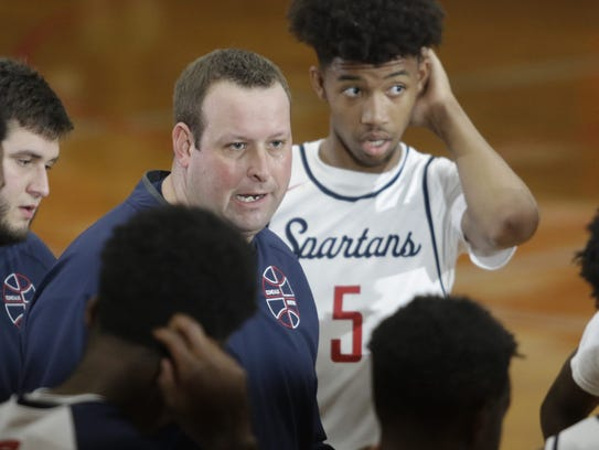 Comeaux coach Jeremy Whittington won his second district title in his fifth season with the Spartans.