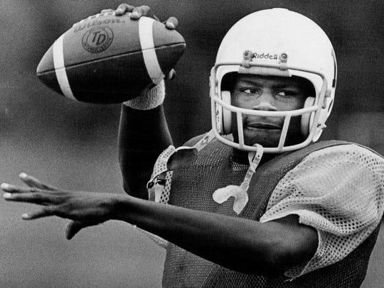 Mike Cherry quarterbacked Rush-Henrietta to the 1982