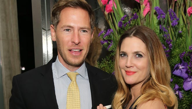 Drew Barrymore and Will Kopelman in New York in October 2015.