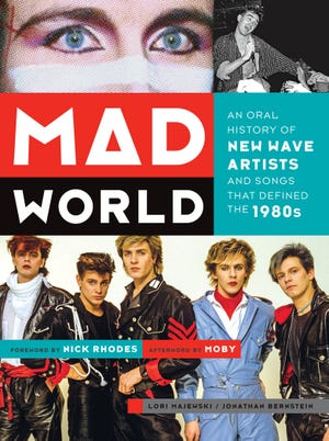 The New Wave-themed book 'Mad World' is on sale now.