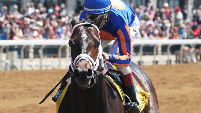 Stradivari romped Sunday at Keeneland. He's a potential Preakness contender.