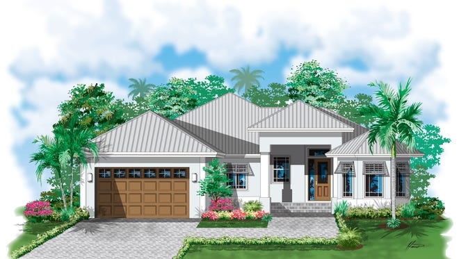 Nova Homes is building a waterfront home on the Isles of Capri.