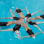 Synchronized swimming: 'Like running a marathon holding your breath and making it look easy'