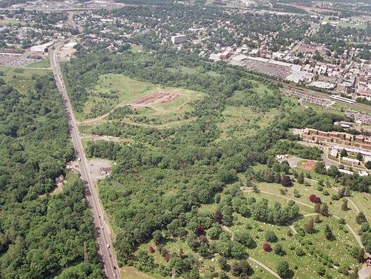 Aerial landfill