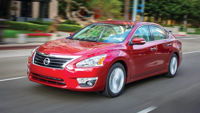 """Nissan Altima: As the cornerstone of Nissan's dynamic product lineup, Nissan Altima embodies the philosophy of """"Innovation that excites"""" with thoughtful technology solutions that make life easier and a premium experience that is unique in its segment. Altima is not only Nissan's best-selling vehicle but also one of the top-selling cars in the United States – thanks to its distinctive exterior and interior design, rewarding driving experience and innovative, driver-focused technology. Base price: $22,300."""