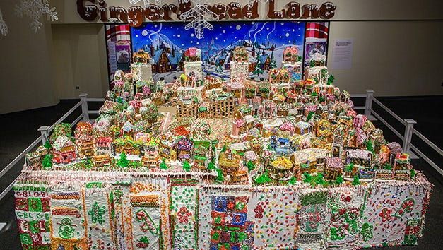 Current record-holder for World's Largest Gingerbread Village