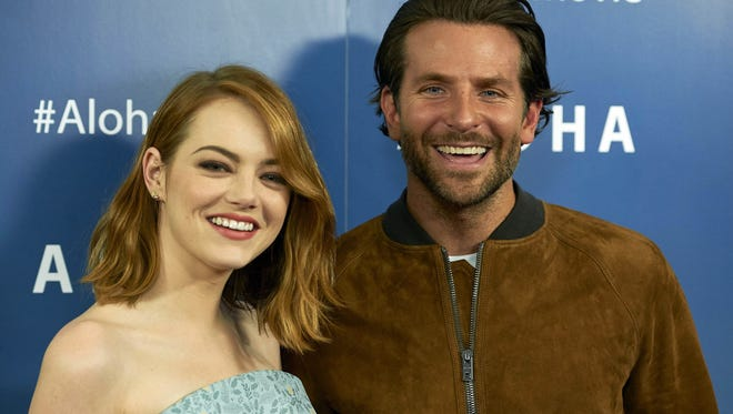 Bradley Cooper stars alongside Emma Stone, his primary love interest