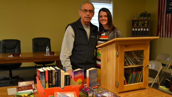 While Rich Harman is the creative hands that made the Little Free Library project come to fruition, Kimberly Cipriani is the brainchild behind it all.
