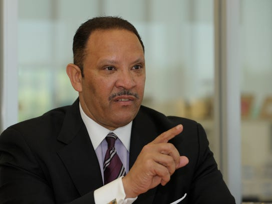 USA TODAY editorial board meeting with Marc Morial,