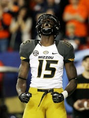 Wide receiver Dorial Green-Beckham was kicked off Missouri's