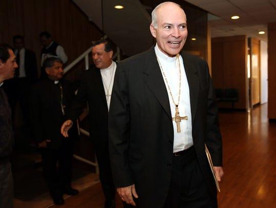 El Cardenal Carlos Aguiar Retes asumirá las riendas