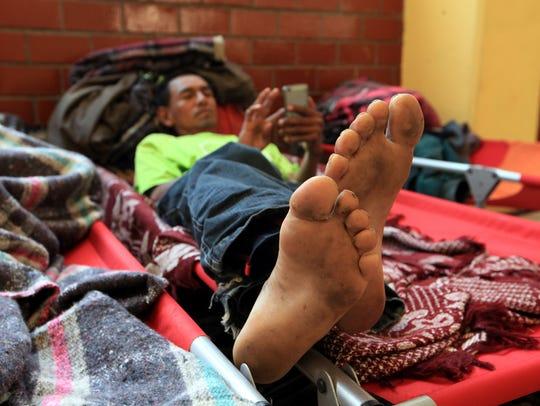 650 integrantes de la caravana migrante buscan apoyo