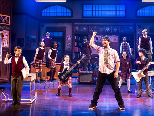 "Alex Brightman in ""School of Rock"" on Broadway."