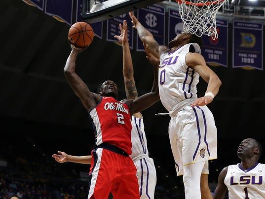 NCAA Basketball: Mississippi at Louisiana State
