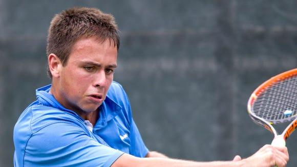 Brevard tennis player Korey Lovett
