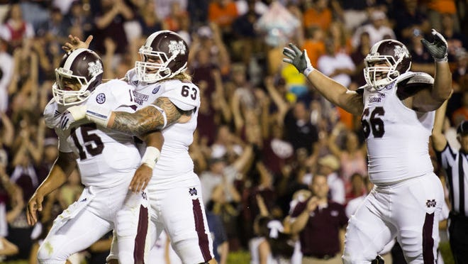 Mississippi State senior Ben Beckwith is set to start at center against Texas A&M on Saturday.