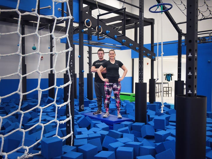 Jason and Lacy Steinberg talk about the gym they opened