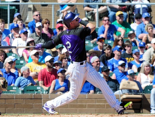 MLB: Kansas City Royals at Colorado Rockies