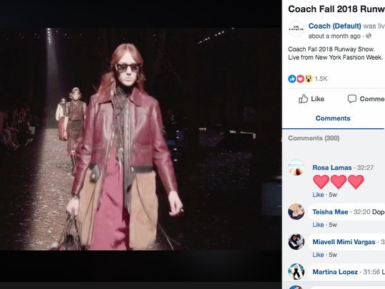 Coach streamed its February show during New York Fashion