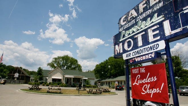 """Loveless Cafe, here July 1, 2008, is preparing for an events building """"barn"""" that will add to their property."""