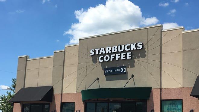 Starbucks on Tillotson Avenue in Muncie.