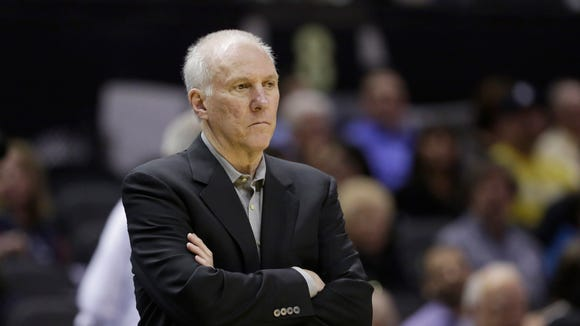 San Antonio Spurs coach Gregg Popovich did not attend Butler but remains a huge fan of Hinkle Fieldhouse in Indianapolis.