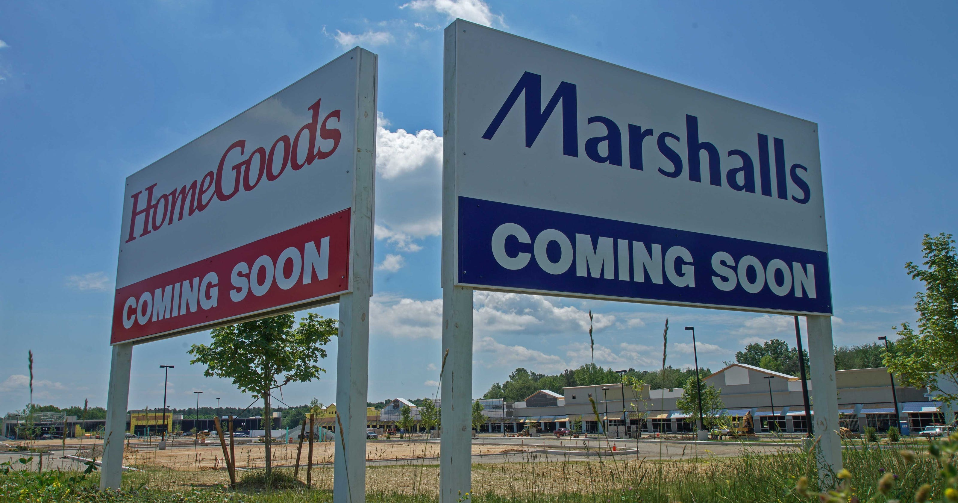 Christiana Marshalls/Home Goods to open