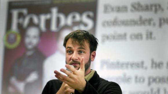 Evan Sharp, co-founder of Pinterest.