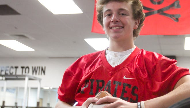 Pinckney's Alex Wasyl, who had seven interceptions, is the second member of his family to be named Livingston County's Defensive Player of the Year.