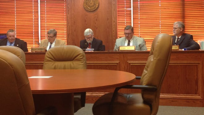 Wichita County Commissioners meet Monday, Jan. 23. Among other items, they approved an extra $15,000 toward the sheriff's department shooting range project to raise the side berms higher.