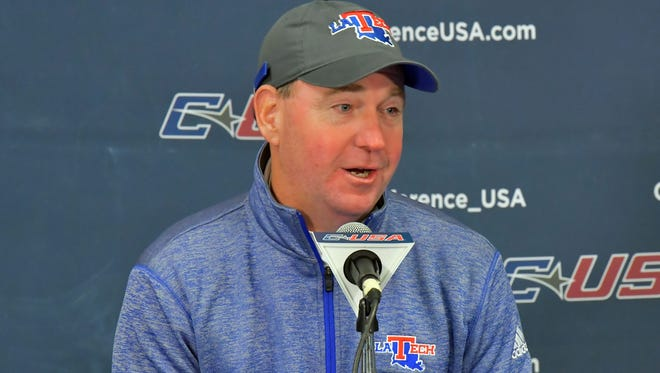 Louisiana Tech coach Skip Holtz said staff continuity helped make signing day run smoother this year.