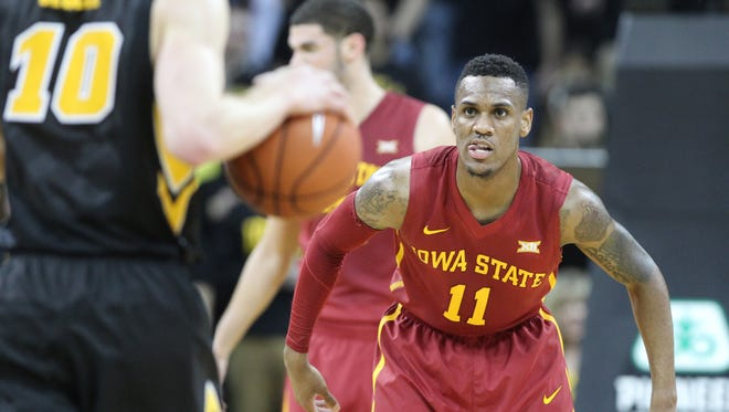 Guard Monte Morris (11) and Iowa State defeated in-state rival Iowa Friday 90-75. The Cyclones take on Southern on Sunday.