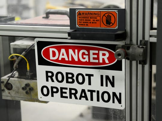 Robotics and technology in manufacturing is constantly improving and changing.