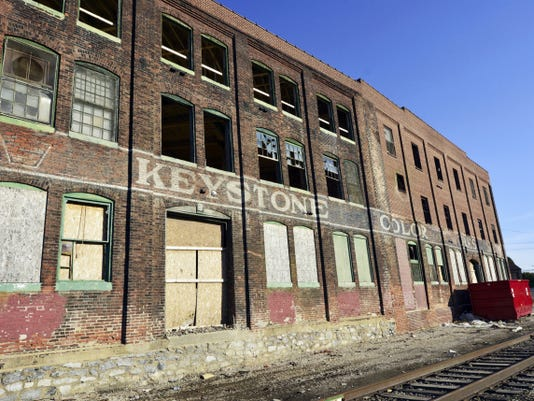 The Keystone Colorworks building at 175 W. Gay Ave. will be converted into luxury apartments. The renovation is expected to be complete in the spring.