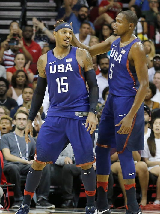 Basketball: USA Basketball Exhibition Game-Nigeria at USA