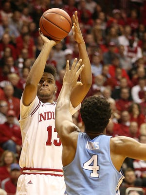 Juwan Morgan picked up the slack for an injured OG Anunoby this week for the Hoosiers.