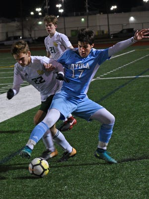 Captain Shreve and Loyola were among six area boys soccer teams getting first-round byes in the LHSAA playoff pairings announced Wednesday.