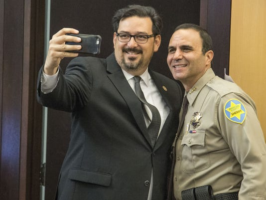 New Maricopa County sheriff and recorder