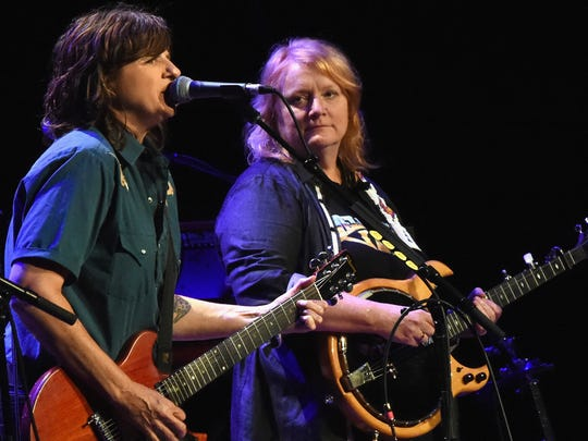 Indigo Girls, Amy Ray and Emily Sailers perform at