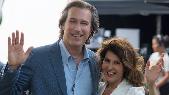 "John Corbett and Nia Vardalos return as Ian and Toula in ""My Big Fat Greek Wedding 2"""