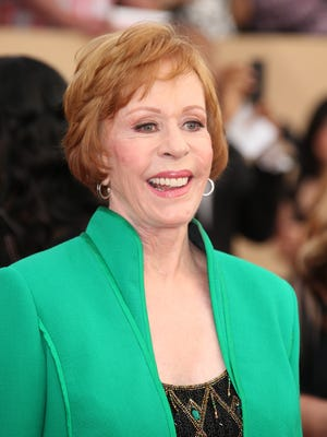 Carol Burnett, shown here the night she received the 2016 Screen Actors Guild Life Achievement award, will star in a sitcom pilot ordered by ABC.