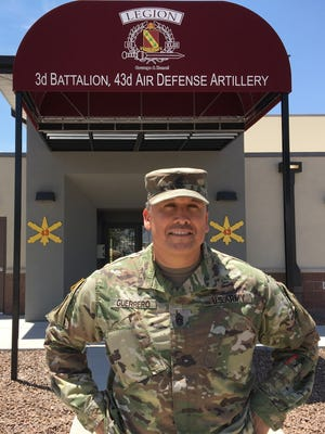 Command Sgt. Maj. Mario F. Guerrero was the senior enlisted leader for 3-43 ADA for the past 21 months. He relinquished the position on July 20.
